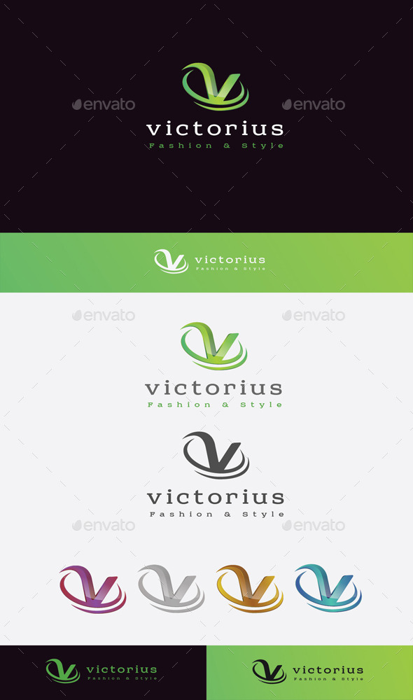 GraphicRiver Victorius Royal Logo 11045539