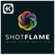 Shot Flame Logo - GraphicRiver Item for Sale