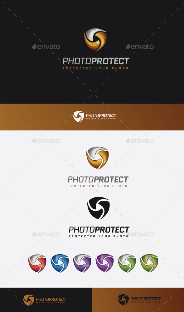 GraphicRiver Photo Protect Logo 11045541
