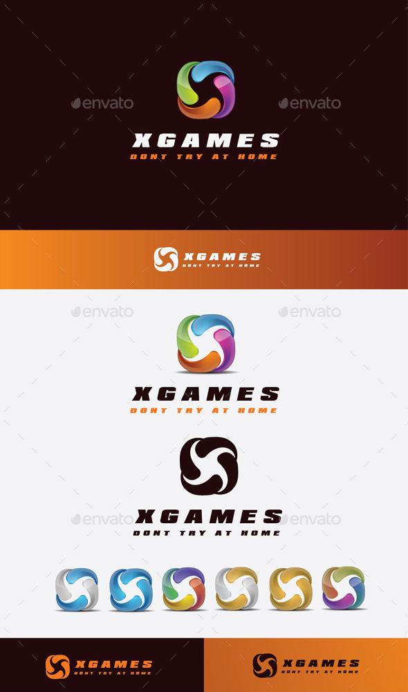 GraphicRiver Xone Games Logo 11045550
