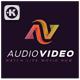 Audio Video Logo - GraphicRiver Item for Sale