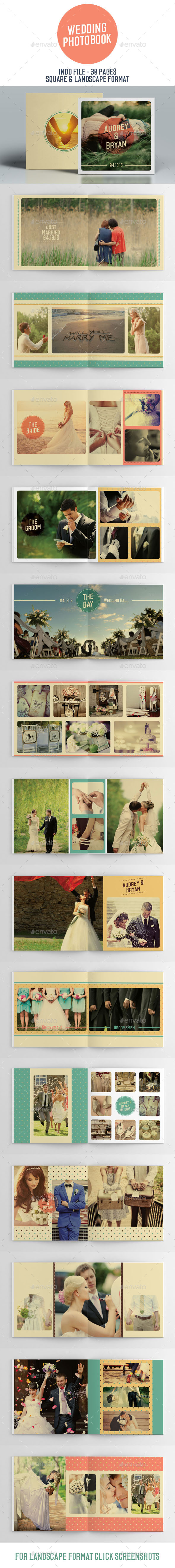 GraphicRiver Wedding Photobook 11045552