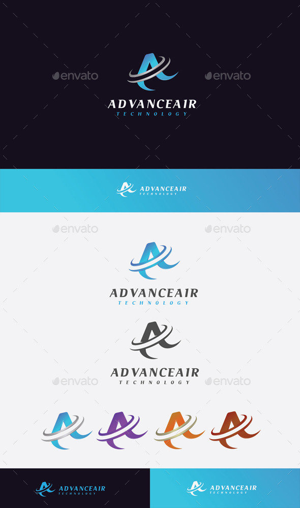 GraphicRiver Advance Air Logo 11045553