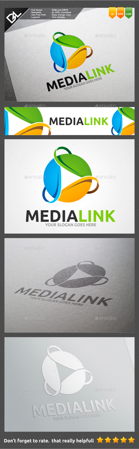 GraphicRiver Media Link 11045554