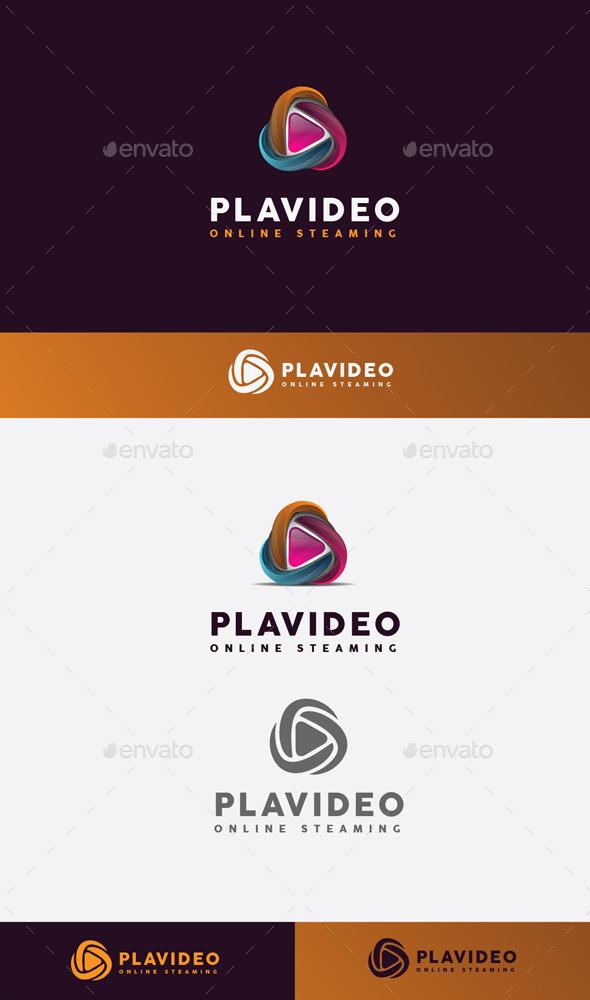 GraphicRiver Play Stream Logo 11045585