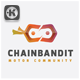 Chain Bandit Logo - GraphicRiver Item for Sale