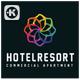 Resort Hotel Logo - GraphicRiver Item for Sale