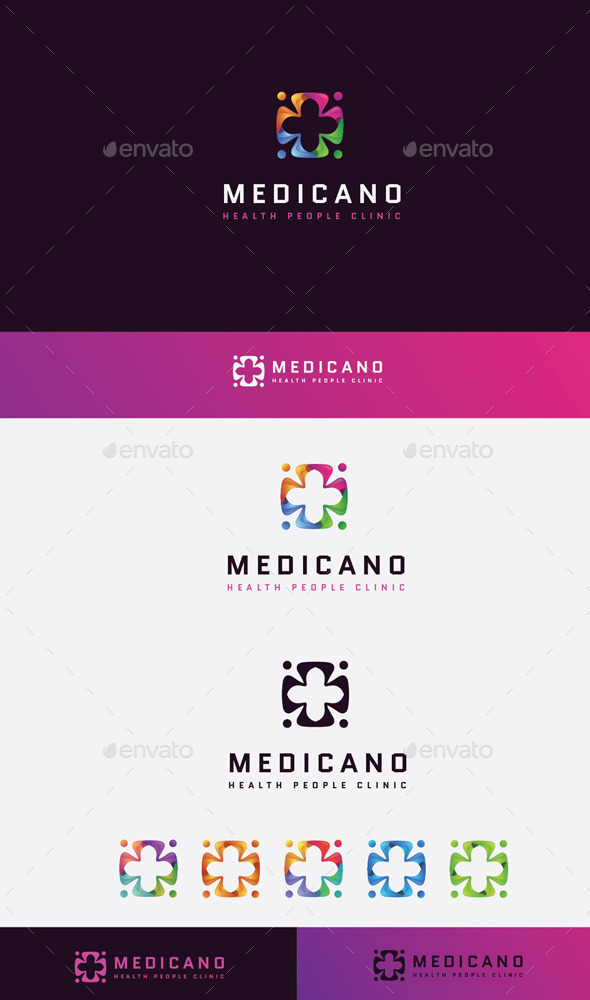 GraphicRiver Check Medical logo 11045598