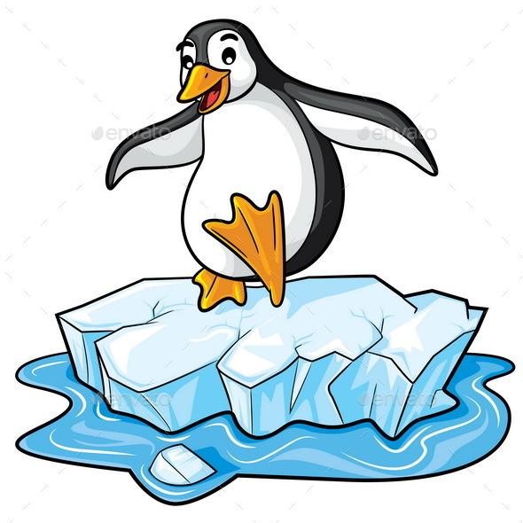 GraphicRiver Penguin Cartoon 11045762
