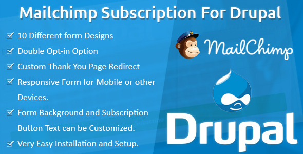CodeCanyon MailChimp Subscription for Drupal 11046010