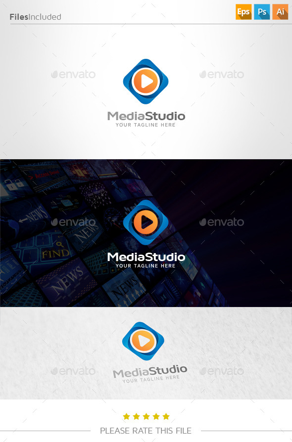 GraphicRiver Media Studio Logo 11046146