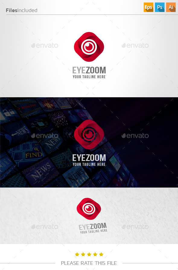 GraphicRiver Eye Zoom Logo 11046299