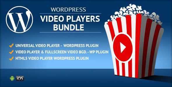 CodeCanyon HTML5 Video Players WordPress Plugins Bundle 11046770