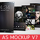 App Screenshot Mockups V7 - GraphicRiver Item for Sale