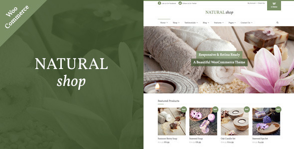 ThemeForest Natural Shop Responsive WooCommerce Theme 11047108