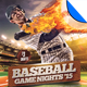 Baseball Game Nights Flyer Template - GraphicRiver Item for Sale
