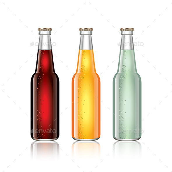 GraphicRiver Soda Bottles 11047202
