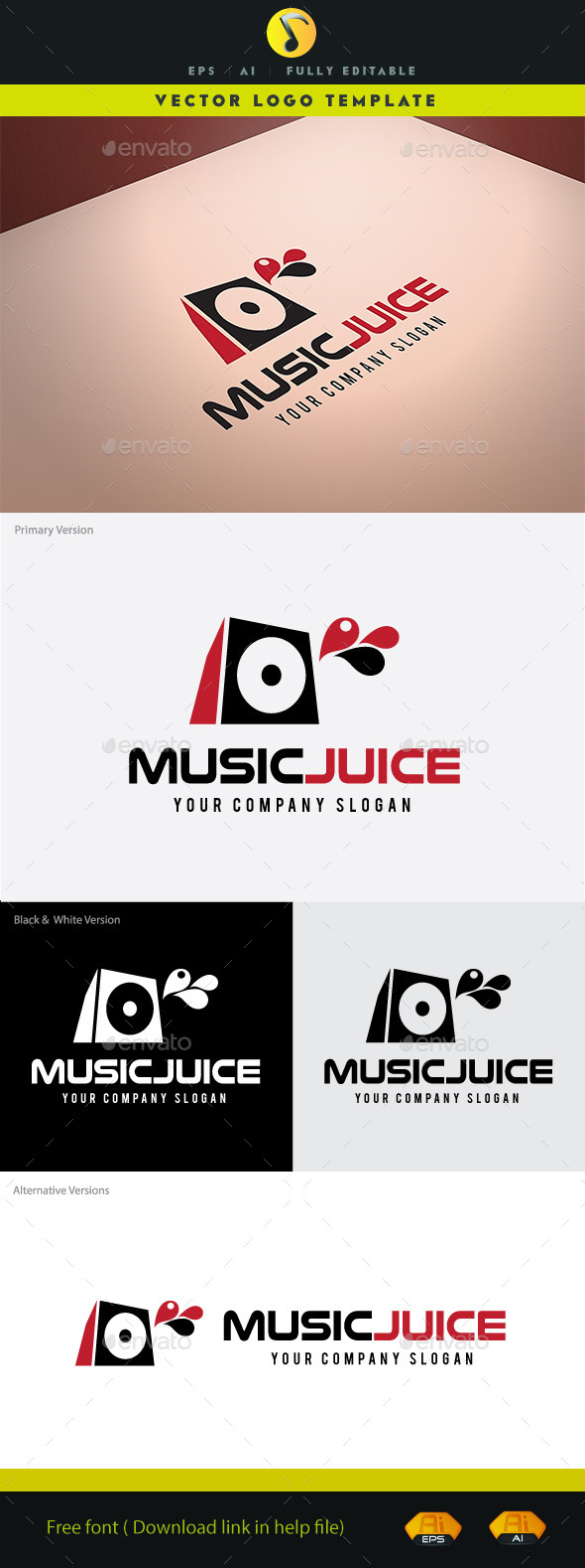 GraphicRiver Music Juice 11047629
