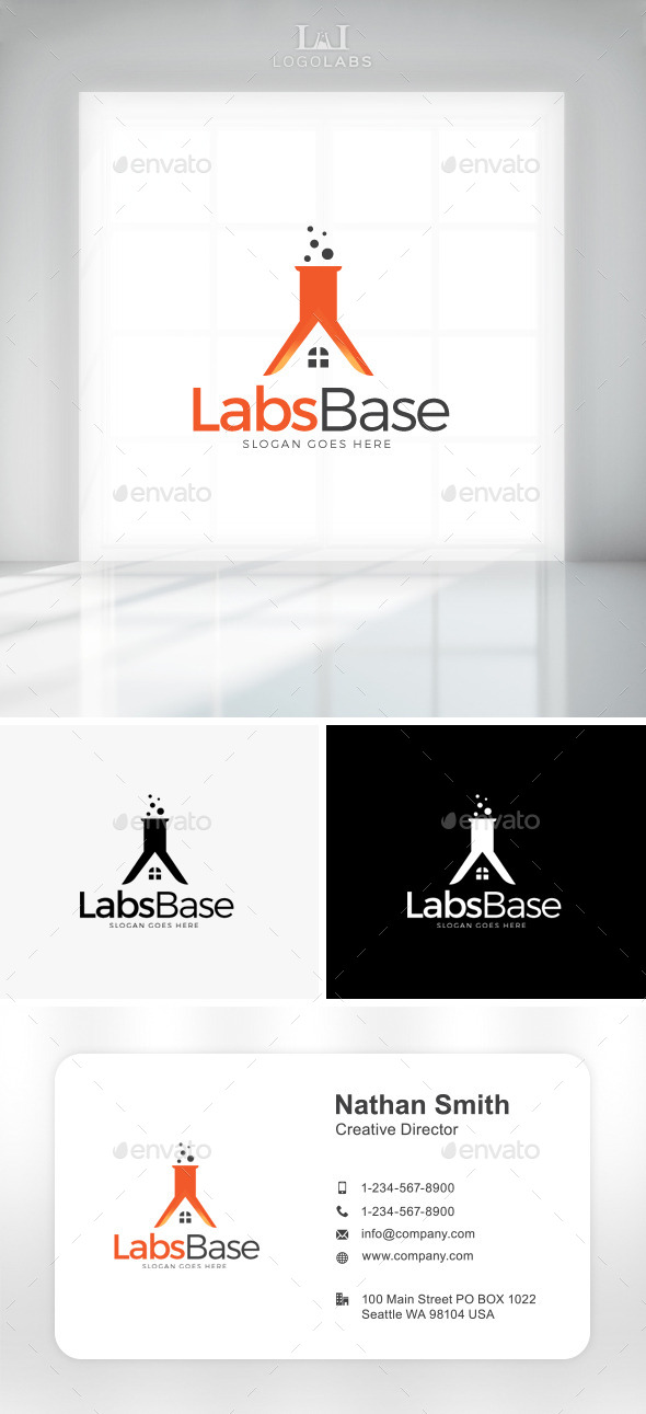 GraphicRiver Lab Base Logo 11047649