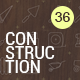 Construction Thin Icons - GraphicRiver Item for Sale