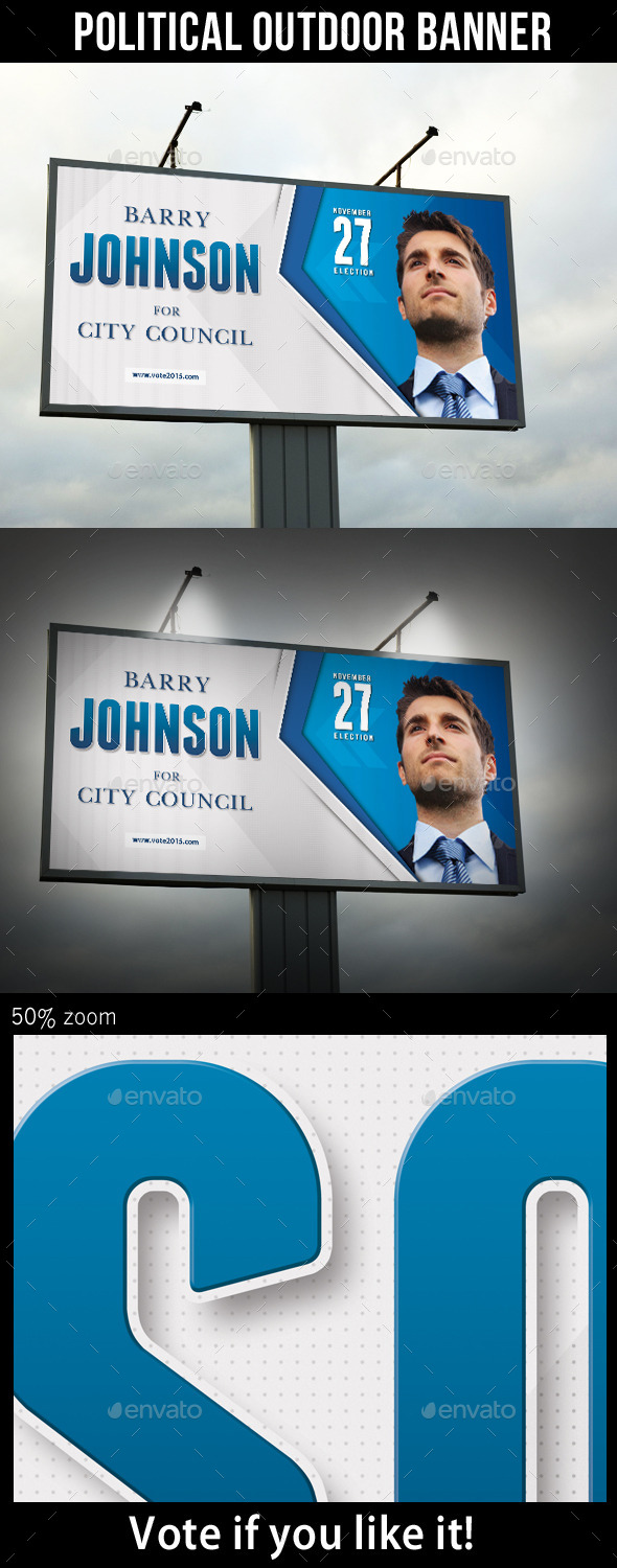 GraphicRiver Political Election Banner Template V2 11048002