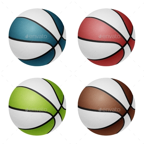 GraphicRiver Basketballs 11048040