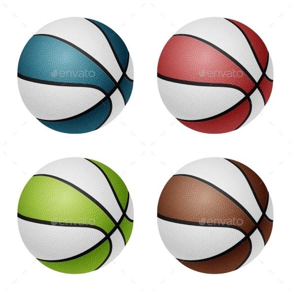 GraphicRiver Basketballs 11048040