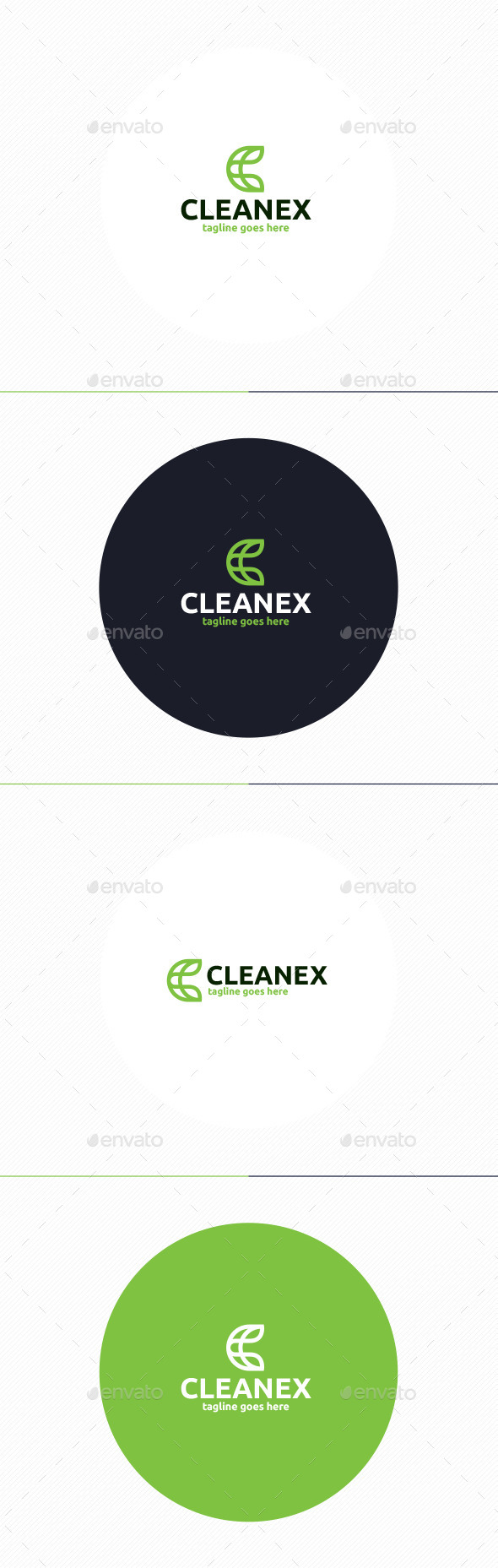 GraphicRiver Cleanex Logo Letter C 11048459