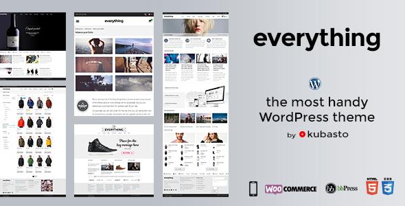 Everything — Responsive WordPress Theme - Business Corporate