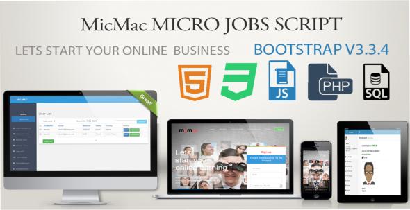 CodeCanyon MicMac microjobs script v1.4 11048752