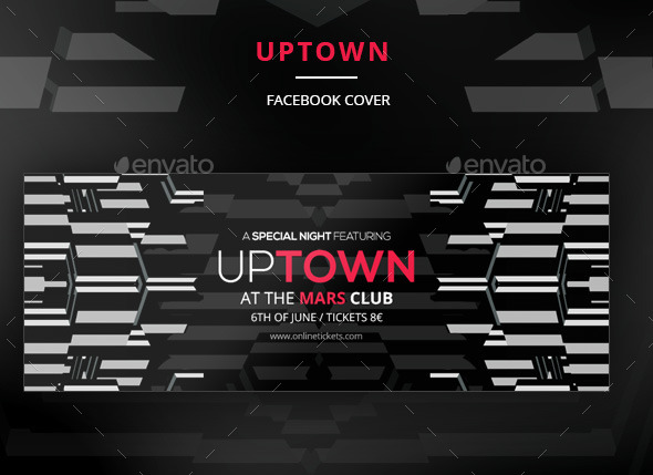 GraphicRiver Uptown Facebook Cover 11048905
