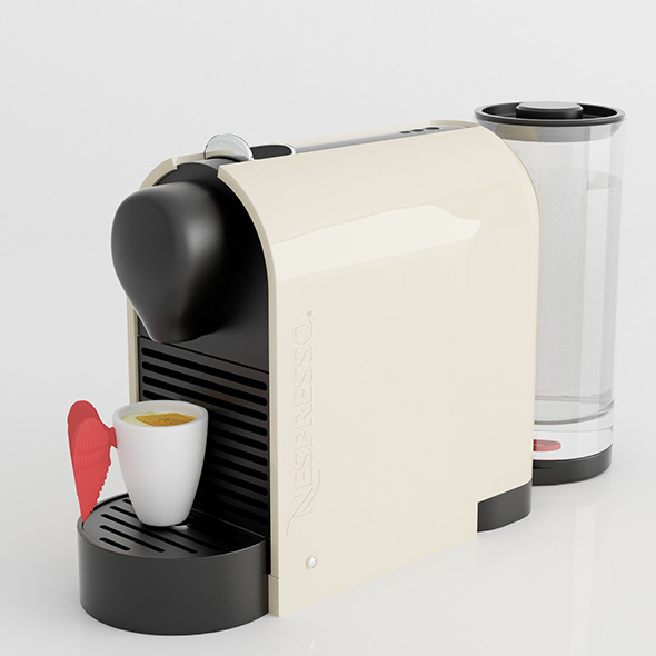 3DOcean Nespresso Machine with Pylone cup 11048985