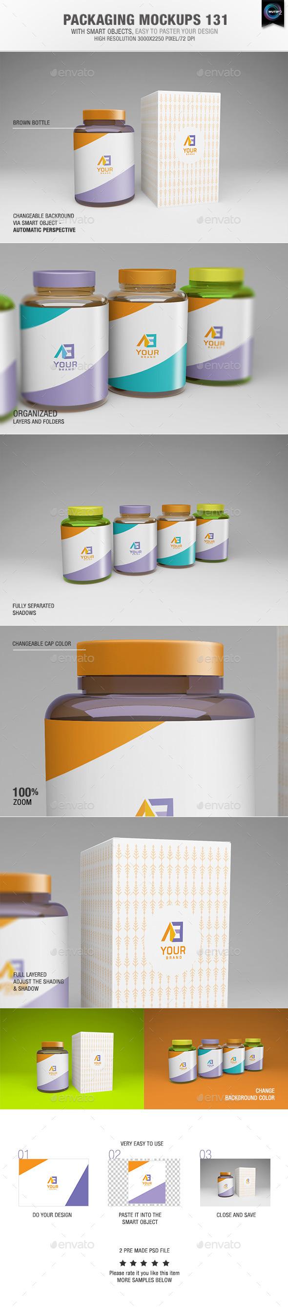 Packaging Mock-ups 131