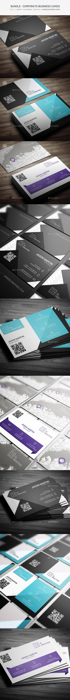 GraphicRiver Bundle Corporate Business Cards 95 11049410