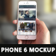 White Phone 6 Mockup - GraphicRiver Item for Sale
