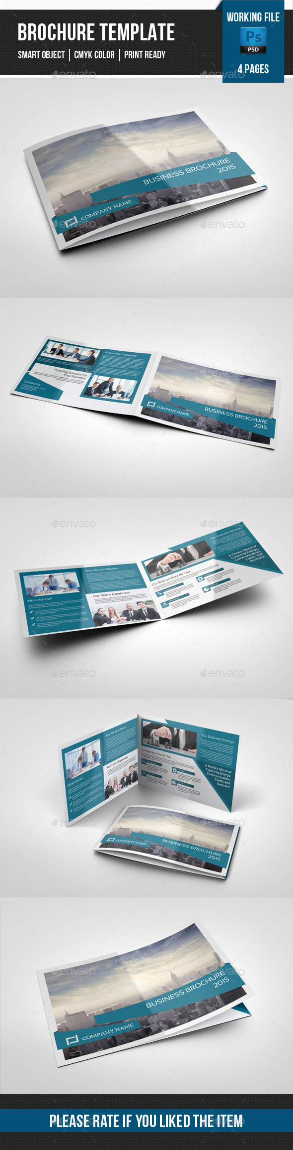 4 Pages Landscape Corporate Brochure-V234