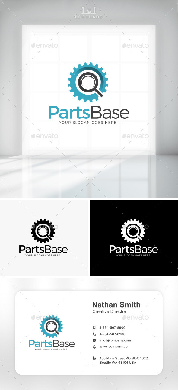 GraphicRiver Parts Base Logo 11049808