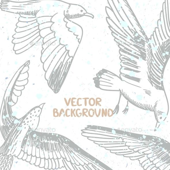 GraphicRiver Birds Background 11049846