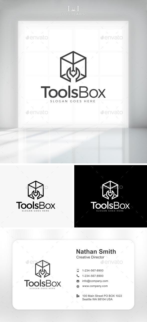 GraphicRiver Tools Box Logo 11049956