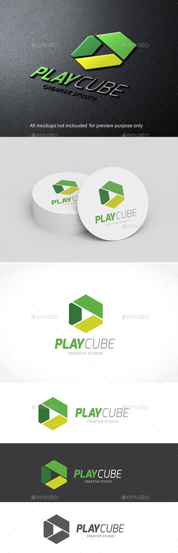 GraphicRiver Play Cube 11050094