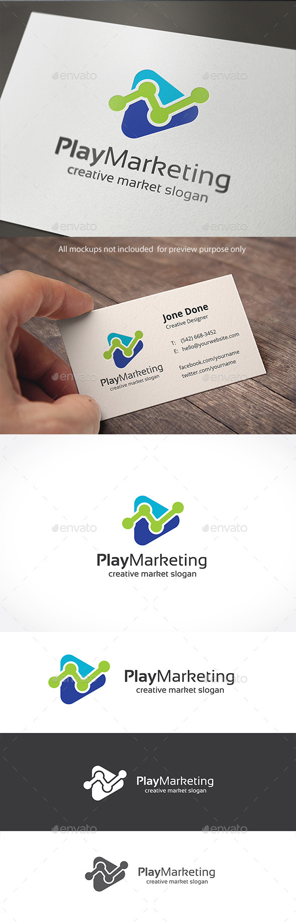 GraphicRiver Play Marketing 11050218