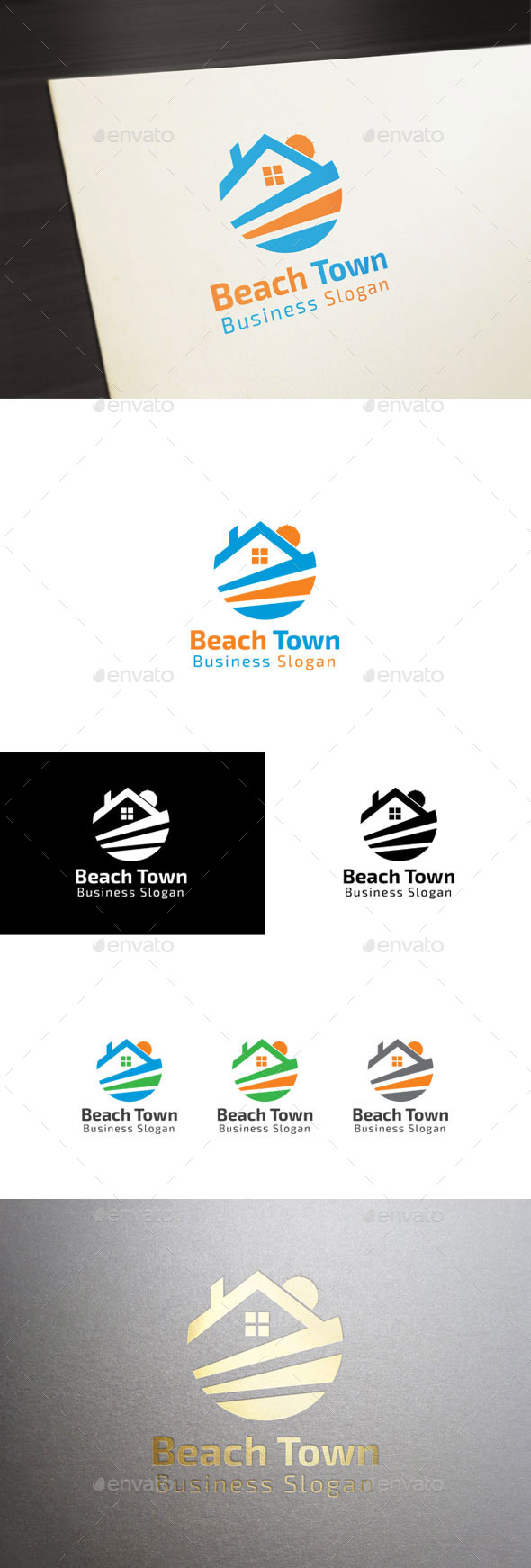 GraphicRiver Beach Town 11050233