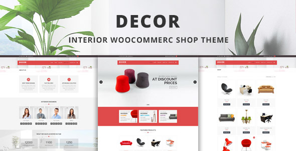 Decor - Interior & Furniture  WooCommerce Shop Theme