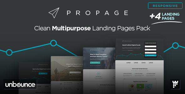 ThemeForest ProPage Multipurpose Unbounce Template 11050487