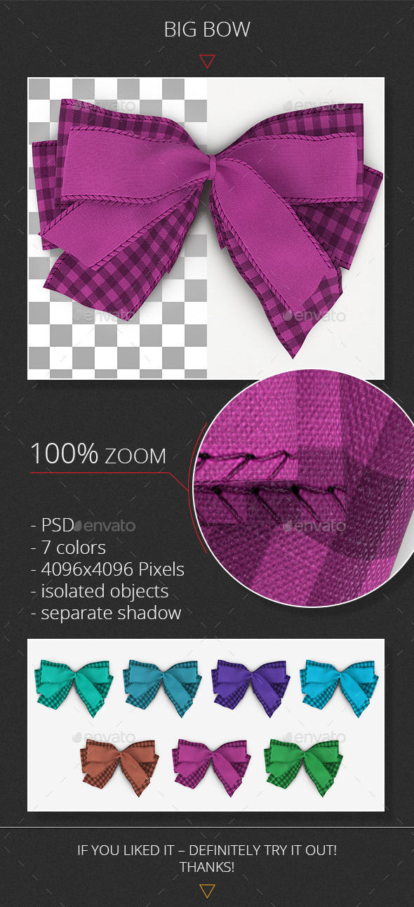 GraphicRiver Big Bow V1 11050738