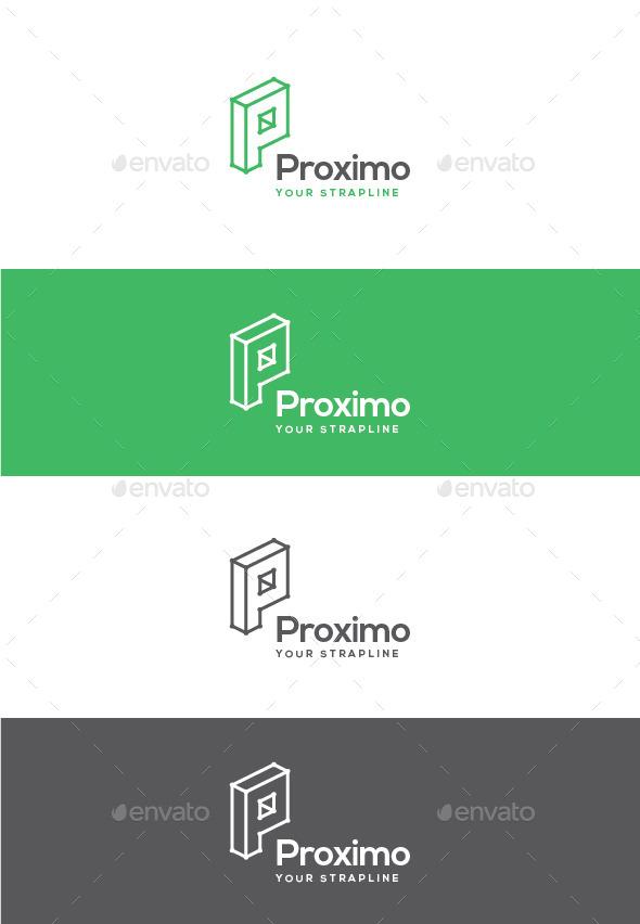 GraphicRiver Proximo Letter P Logo 11050976