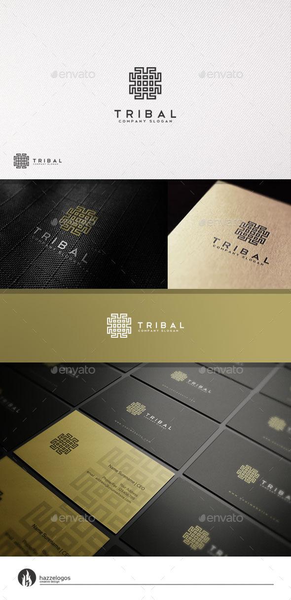 GraphicRiver Tribal Logo 11050995