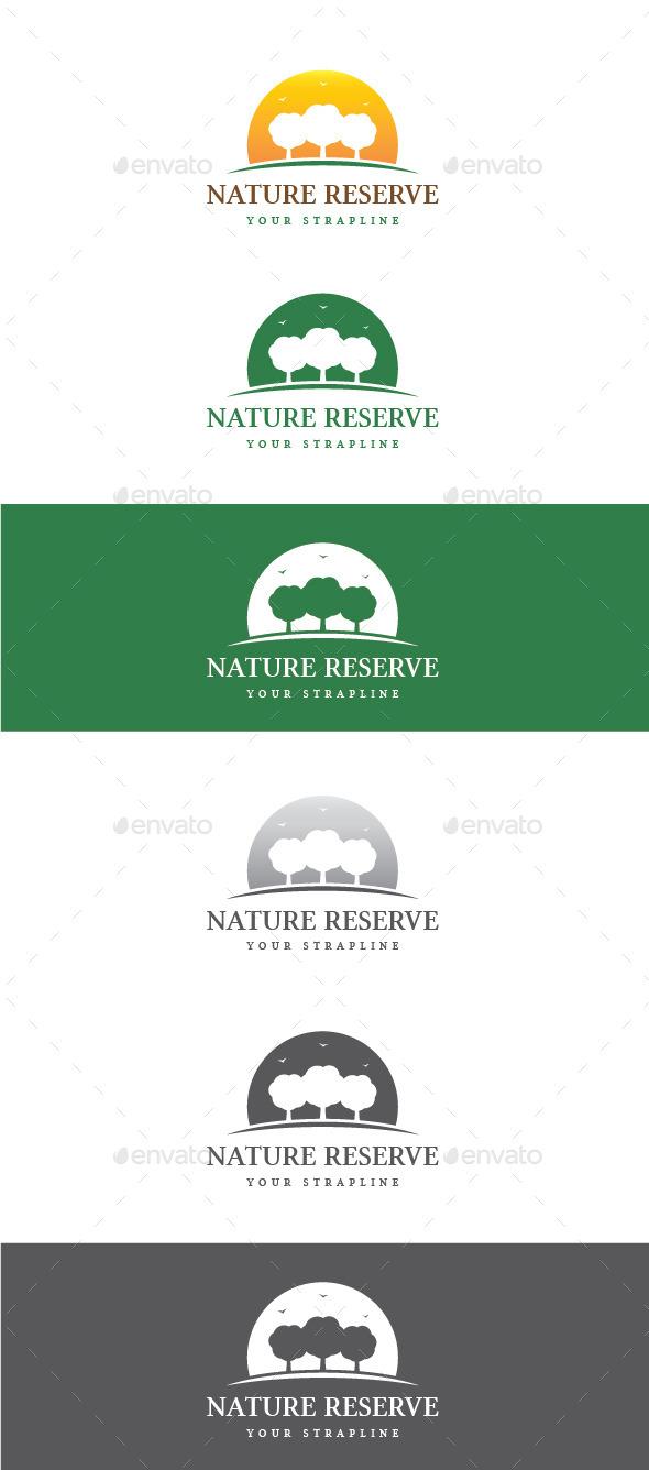 GraphicRiver Nature Reserve Logo 11051009