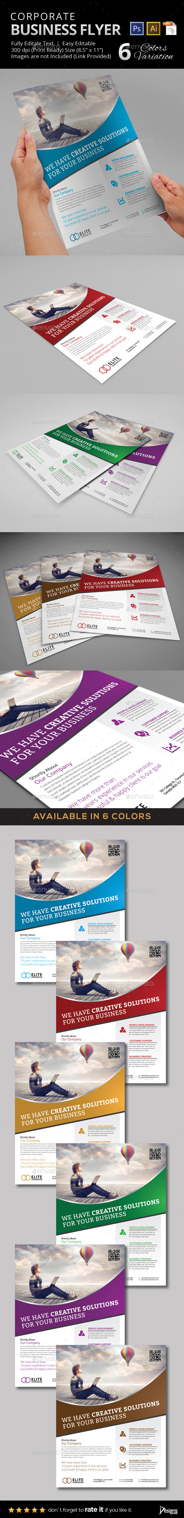 GraphicRiver Multipurpose Business Flyer 40 11051020