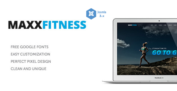ThemeForest Maxx Fitness Joomla Template 10753768